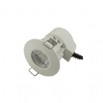 Bell LED White/Satin chrome Intergrated Downlight 08187