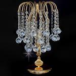 Shower Crystal Table Lamp ST01800/TL/G