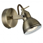 Focus Single spotlight Antique Brass 1541AB