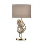 Glebe Antique Silver Table Lamp GLE4232/X