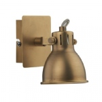 Idaho Natural Brass Wall Light IDA0775