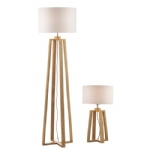 Pyramid Table and Floor Lamp PYR4943