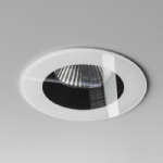 Vetro LED Fire Rated Round Shaped 2700K Recessed Down Light