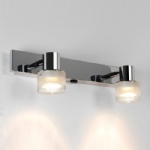 Tokai Twin IP44 Switched Bathroom Spotlight 6138