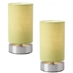 Table Lamp Twin Pack COLLIERS-TLGR