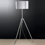 Adjustable Floor Lamp Satin Nickel SL213